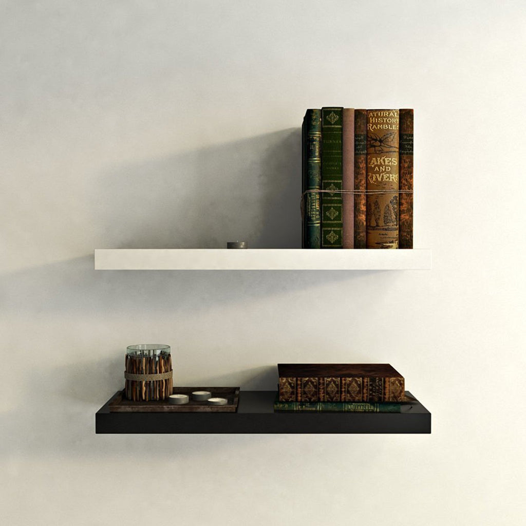 ... Artesia Decorative Wooden Wall Shelves 2 Pcs Set ...