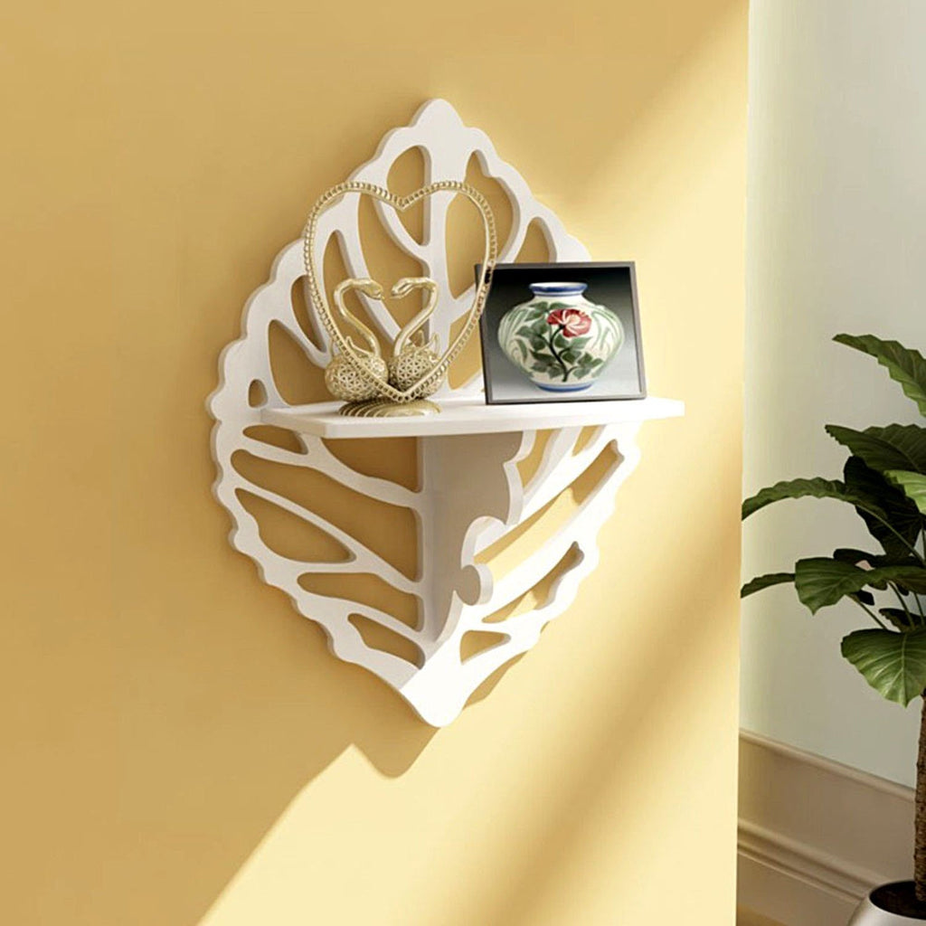 White Wooden Display Wall Shelves/ Wall Shelf – Artesia Shop