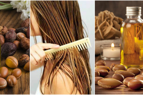 argan oil skin and hair care