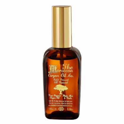 MOROCCAN ARGAN OIL ORGANIC 100% PURE COLD PRESSED COSMETIC WITH SPRAY 100ML - Moroccan Argan Oil Co.