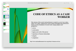 CPSS 330 CPSS330 Week 5 Ethical Dilemma Resolution Presentation - Phoenix