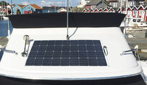 With light weight flexible solar panel to power up your outdoor life