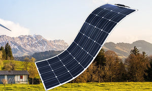 NEW 100W flexible soalr panel of Monocrystalline silicon with ETFE