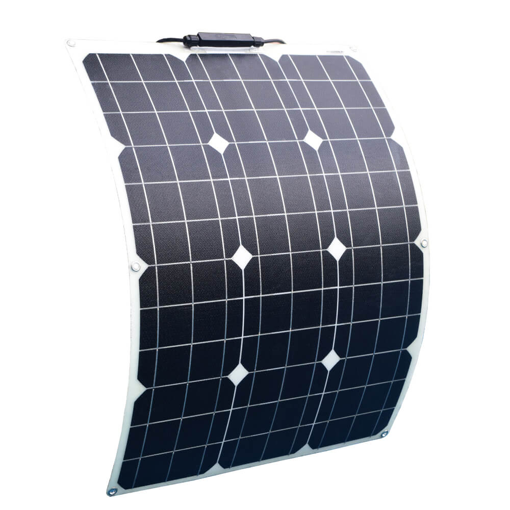 Soalrparts 12Volt 50Watt monoctrystalline flexible solar panel
