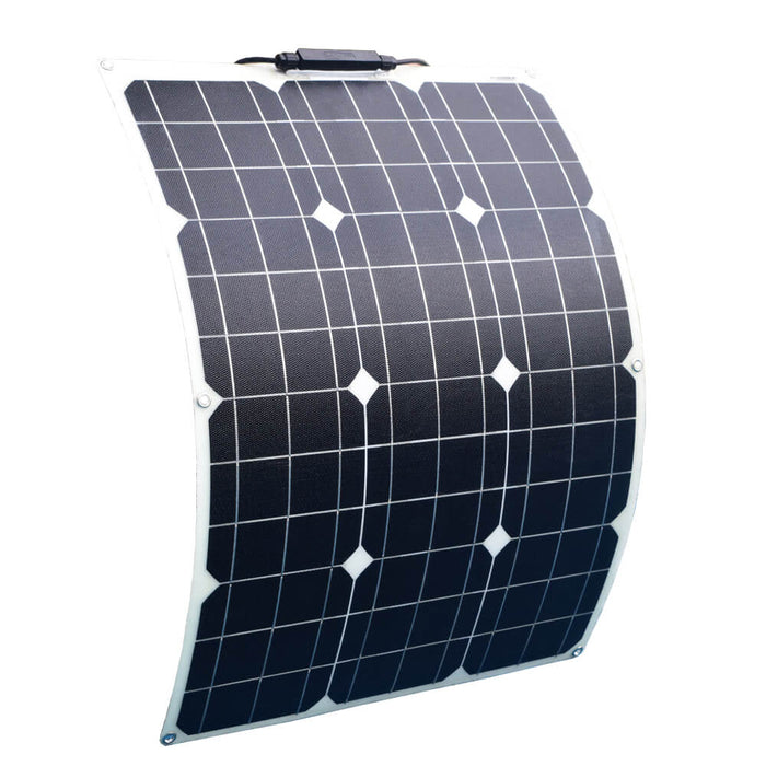 Class A-Soalrparts 12 Volt 50 Watt Monoctrystalline Flexible Solar Panels