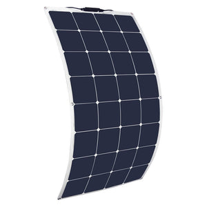 Solarparts 12V 100W flexible solar panel high efficiency sunpower charge for RV yacht boat home