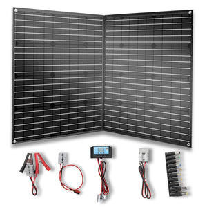 Solarparts 100W Foldable Solar Panel