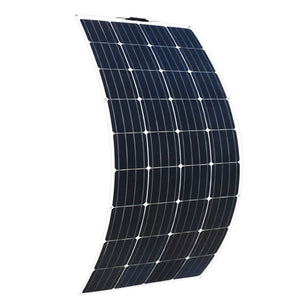Solarparts 12Volt 160Watt Monocrystalline flexible solar panels solar RV kit