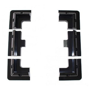 Solarparts black Lot ABS Solar Panel Mounting Bracket Kits