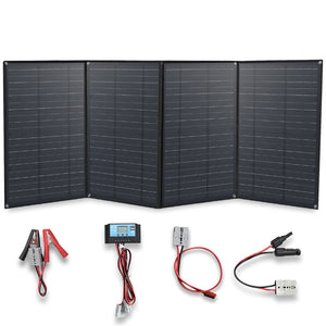 Solarparts 12 Volt 200 Watt Foldable Solar Panel