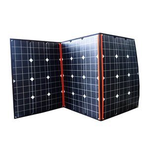 12V 160W portable folding solar charger