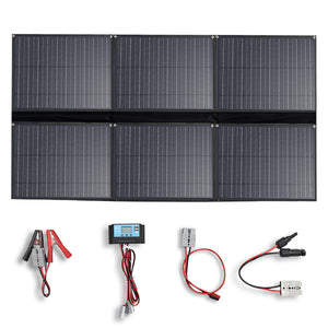 Solarparts 12V 300W Portable Solar Panel