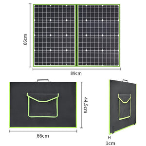 Solarparts 12V 100W Foldable solar panel