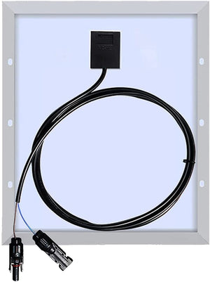Solarparts 12 Volt 20 Watt Flexible Solar Panel Kit