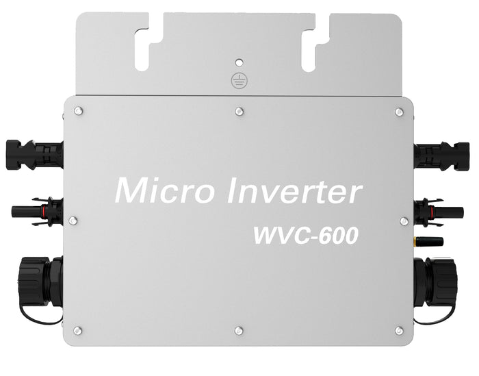 Solarparts 600 Watt On-grid Micro Inverter System Kits Connect Solar Panel