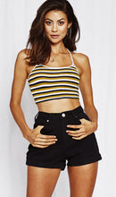 Load image into Gallery viewer, Stripe Crop Top, top, VIVIMARKS