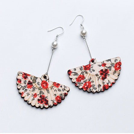 Florals Earrings, ACCESSORIES, VIVIMARKS