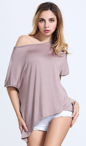 Short Sleeve  Irregular Top, top, VIVIMARKS