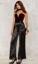 Load image into Gallery viewer, Strapless Back  Lace Up Jumpsuit, jumpsuit, VIVIMARKS