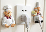 1 pc Cartoon Power Cord Storage Sticking Hook