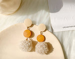 Plush Ball Earrings