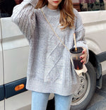 Casual Colorful Dots Sweater