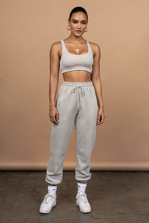 Crop Top And Sports Pants