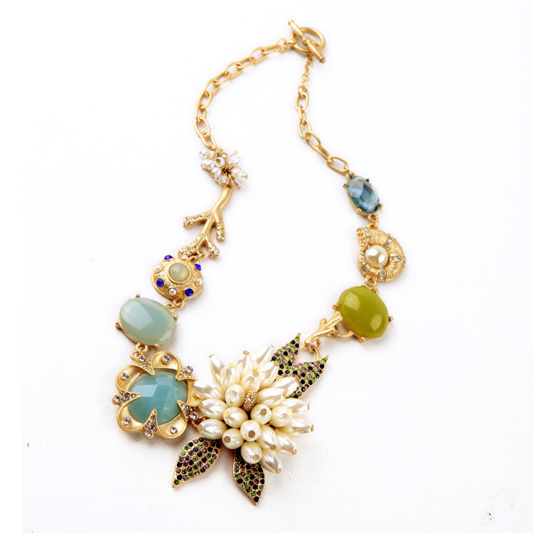 Floral Necklace, ACCESSORIES, VIVIMARKS