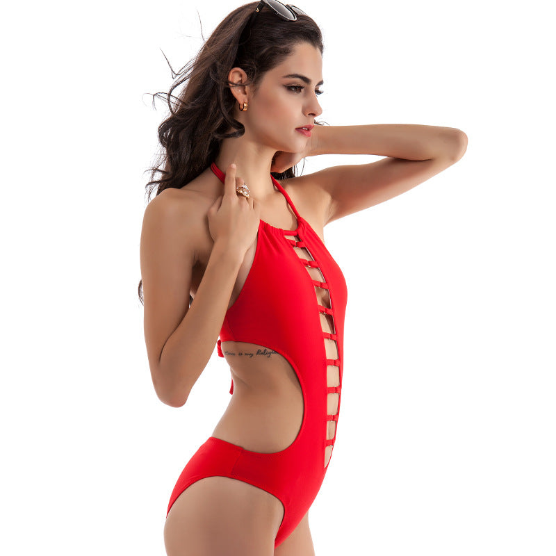 Hollow Out One Piece Swimwear, bikini, VIVIMARKS