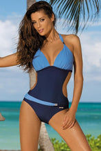 Load image into Gallery viewer, Colorful Halter One Piece Swimsuit, bikini, VIVIMARKS