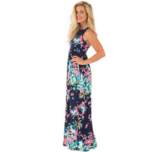 Load image into Gallery viewer, Floral Maxi Dress, dress, VIVIMARKS