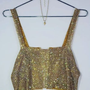 Sequin Strap Top, top, VIVIMARKS