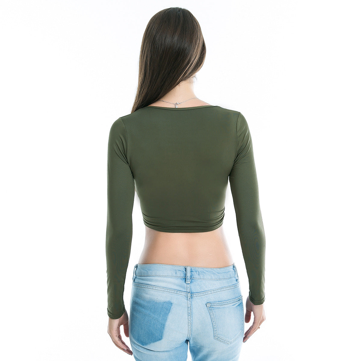 Cross Long Sleeve Top, top, VIVIMARKS