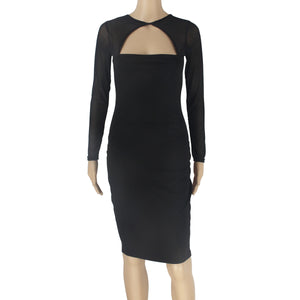 Tulle Splicing  Bodycon Dress, dress, VIVIMARKS