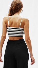 Stripe Crop Top, top, VIVIMARKS
