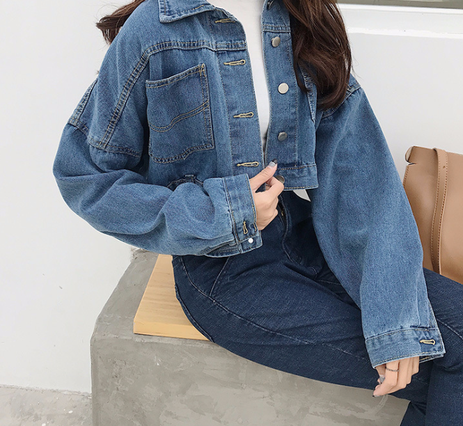 Denim Jacket, jacket, VIVIMARKS