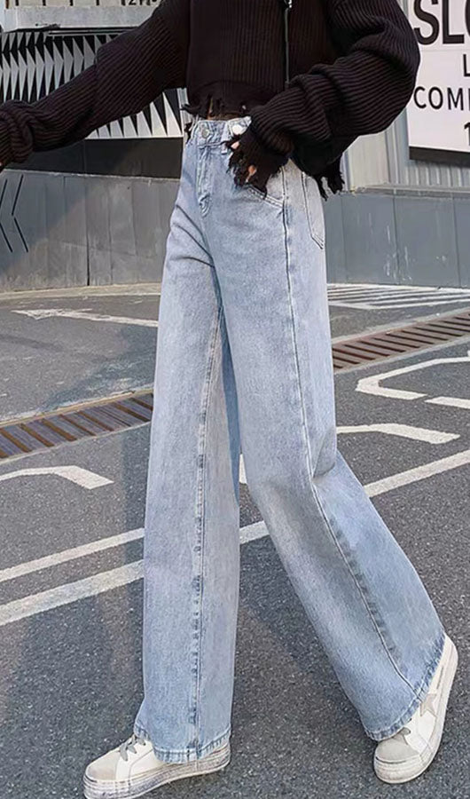 Adjustable Waist Jeans