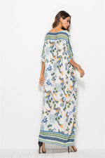 Bat Sleeve Maxi Dress