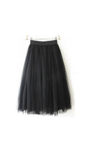 Load image into Gallery viewer, Black Tulle Skirt