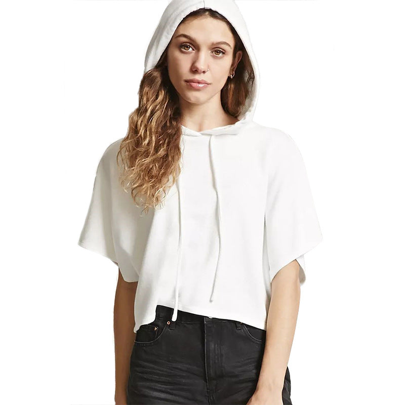 Casual Hooded T-shirt