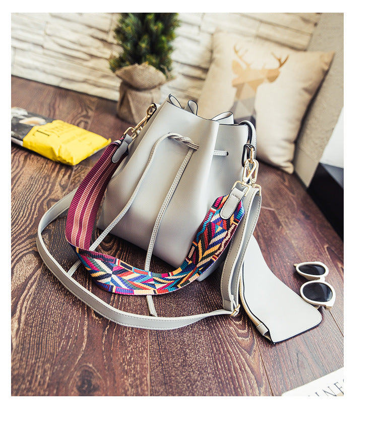 Colorful Ribbons  Crossbody Bag