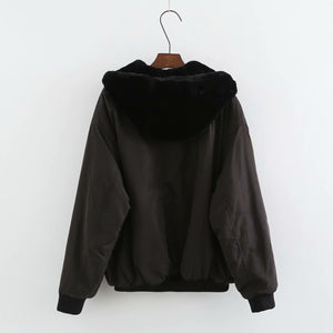 Double Side Wear Hooded Vans Jacket