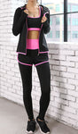Hooded Design Five Pieces Set Activewear