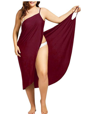 Plus Size Beach Cover-up Dress