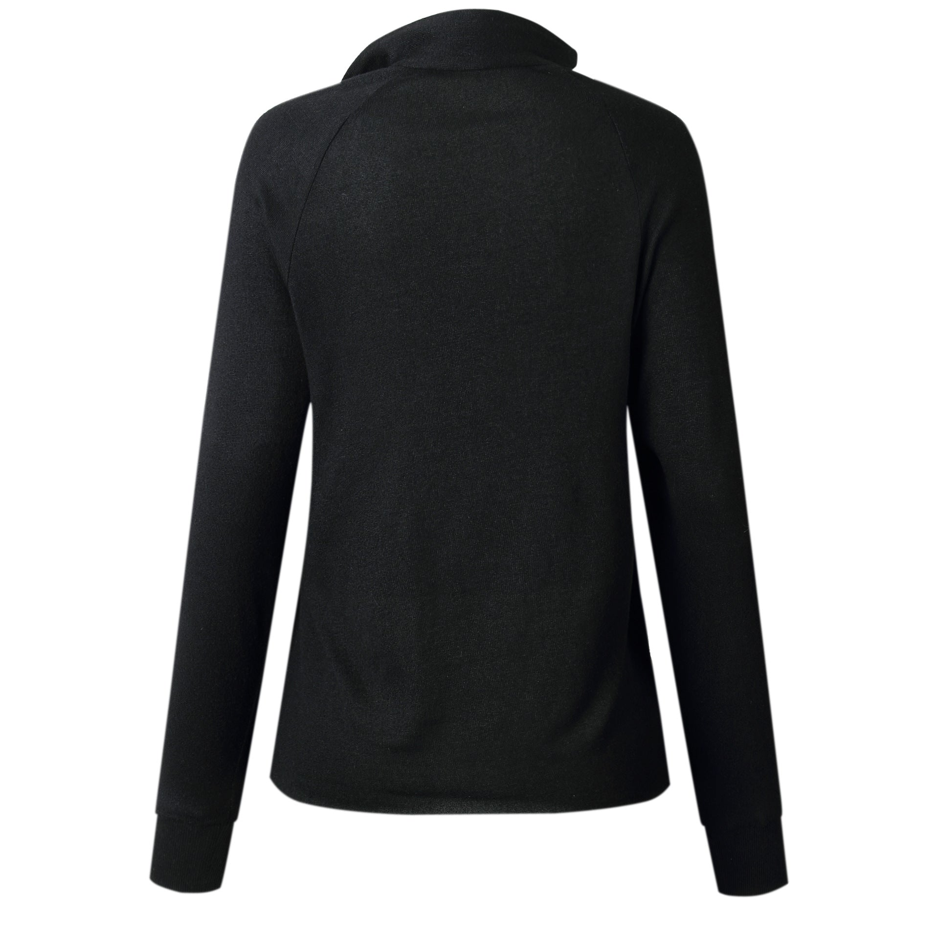 Side Buttons Long Sleeve Tops
