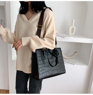 Solid Color Handbag