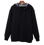 Solid Color Vans Hooded Sweatshirt