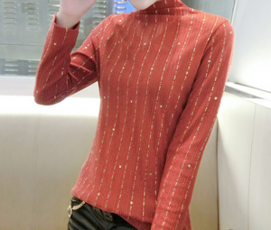 Stars Stand Collar Top