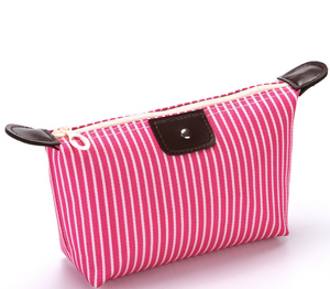 Stripe Cosmetic Bag