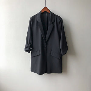 Three Quarter Sleeve Suit